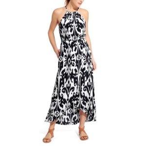 NWT ATHLETA Ikat Bloom Ripple Maxi Dress Size XL